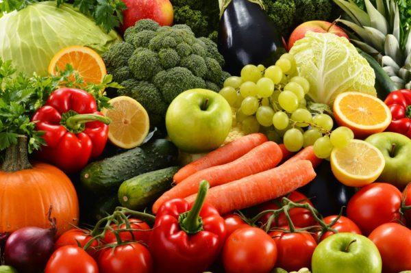 Овощи и фрукты
